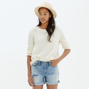 Madewell Button-Back Sweater